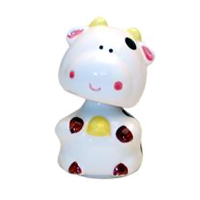 """Cow Figurine 3""""H"""