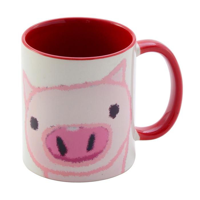 Pig Mug Cup 11oz