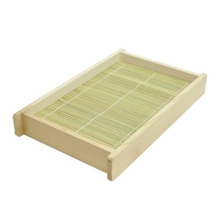 Large Wooden Soba Share Plate