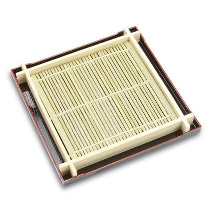 Kiwaku Soba Plate & Tray Set