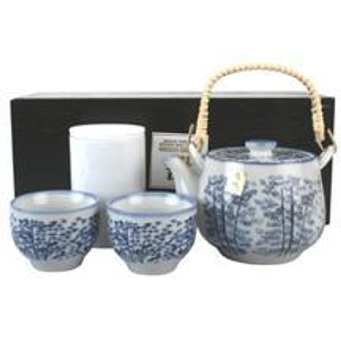Bamboo Forest Teaset with Tea Storage Container