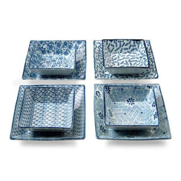 Four Season Square Plate Set