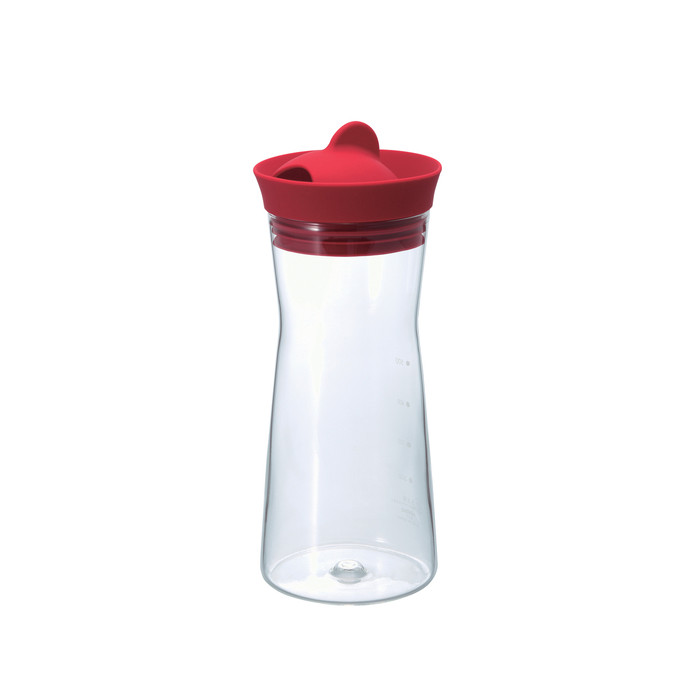 Hario Water Jug - Red 700ml (24oz)