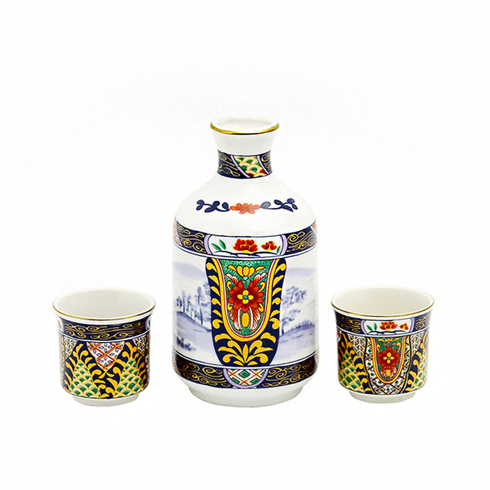 Antique Chinese Sake Set