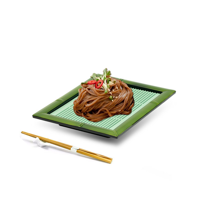 Bamboo Soba Tray 5pc Set - Green