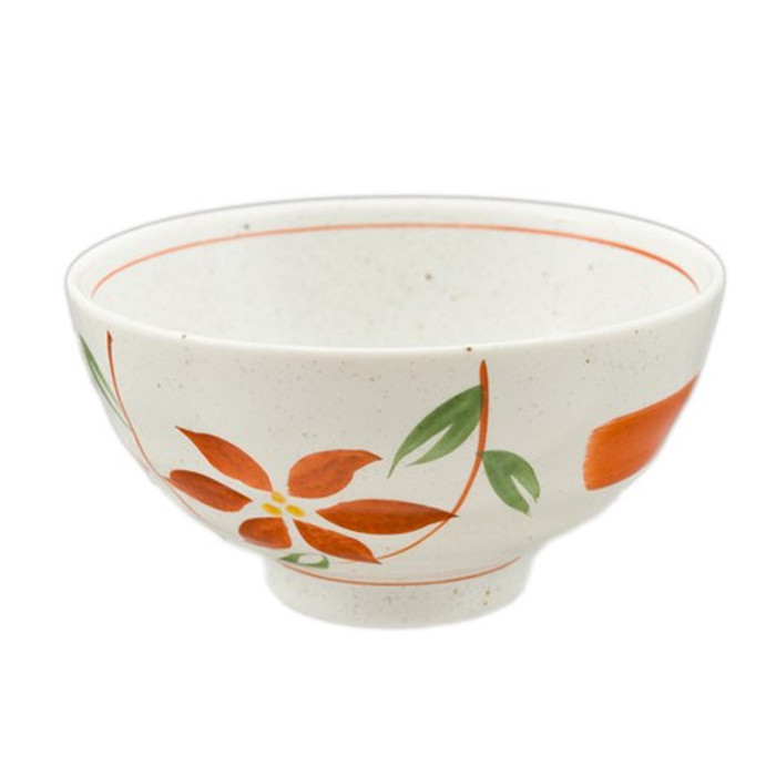 Earthen Flower Assorted Rice Bowl Set of 5