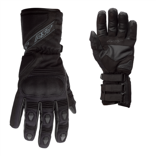 RST 2092 Tractech Evo R III 3 CE Approved Motorcycle Gloves Sport Race F.Yel