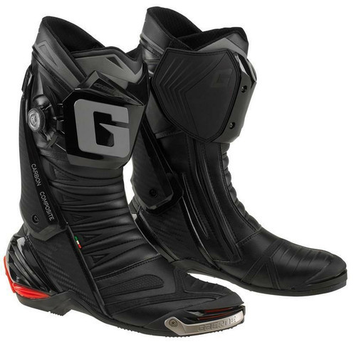 Gaerne GP1 Evo Motorcycle Boots Full Race Spec Moto Gp WSBK Black Ce Approved
