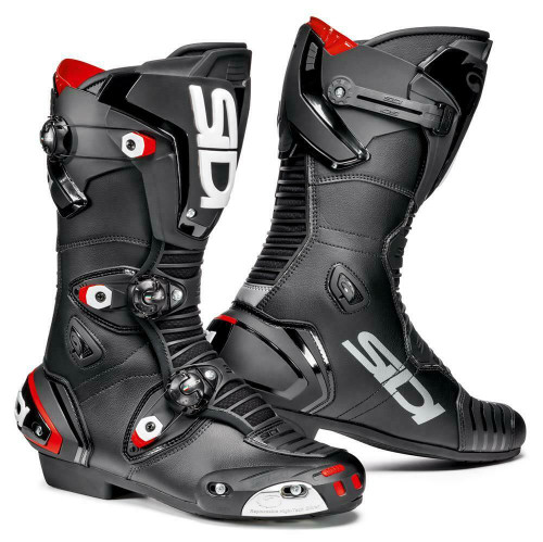 Sidi Mag-1 Sport Race Motorcycle Boots Black CE Approved