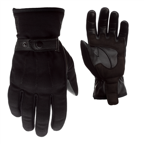 RST 2273 Shoreditch CE Mens Motorcycle Gloves Black