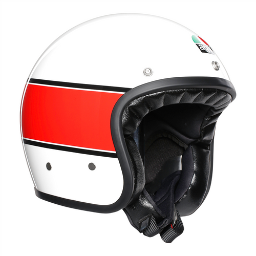 AGV X70 Mino 73 Cafe Racer Open Faced Retro Motorcycle Helmet