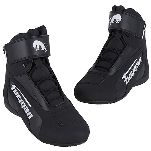 Furygan Zephyr D30 Waterproof Motorcycle Short Boots Black