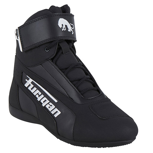 Furygan Zephyr D30 Waterproof Motorcycle Boots Black White