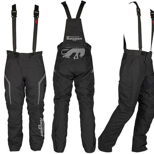 Furygan Apalaches Waterproof Textile Motorcycle Trousers Black