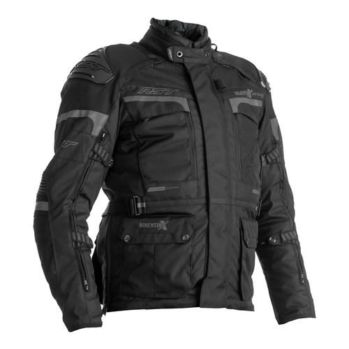 RST 2972 Adventure-X Textile CE In&motion Airbag Motorcycle Jacket Black
