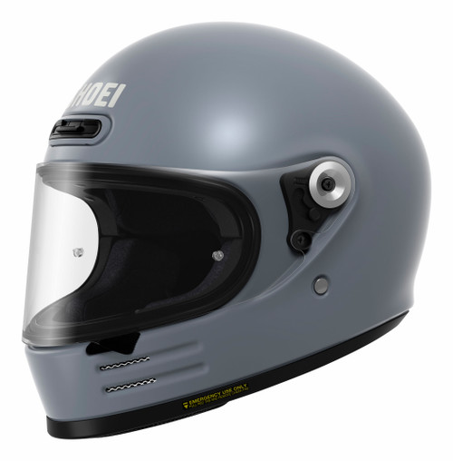 Shoei Glamster Basalt Grey Motorcycle Helmet