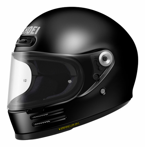 Shoei Glamster Black Motorcycle Helmet