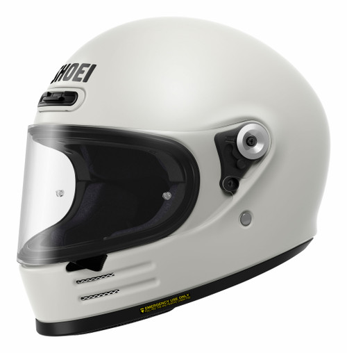 Shoei Glamster Off White Motorcycle Helmet