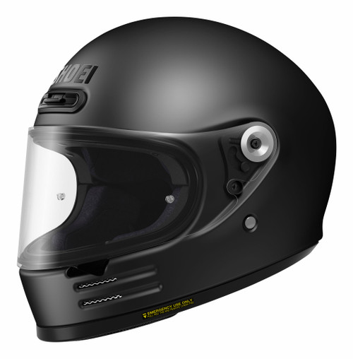 Shoei Glamster Matt Black Motorcycle Helmet