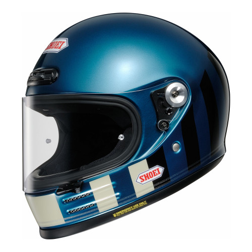 Shoei Glamster Resurrection TC-2 Motorcycle Helmet Blue/Black