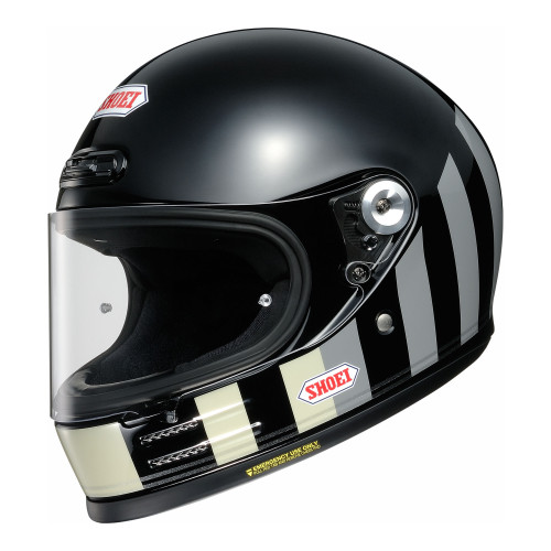 Shoei Glamster Resurrection TC-5 Motorcycle Helmet Black/Grey
