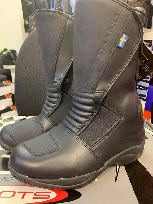 Lindstrands GAP Outlast Ladies Motorcycle Waterproof Boots Black NEW UK 3 EU 36