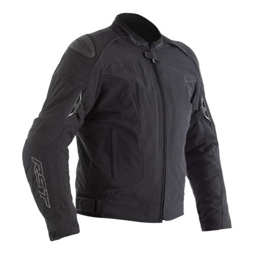 RST GT CE Textile Motorcycle Jacket Black 2196 CE Approved