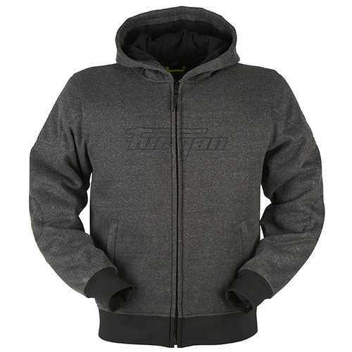 Furygan Brad X CE AAA Made with Kevlar Motorcycle Hoodie Jacket Grey