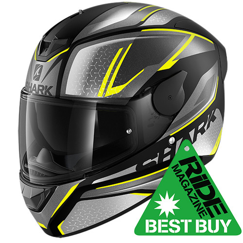 Shark D-Skwal 2 Daven Matt KAY Motorcycle Full Face Helmet