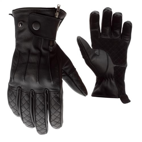 RST  Matlock 2405 CE Motorcycle Glove Black Urban Cafe Racer Retro Classic Style