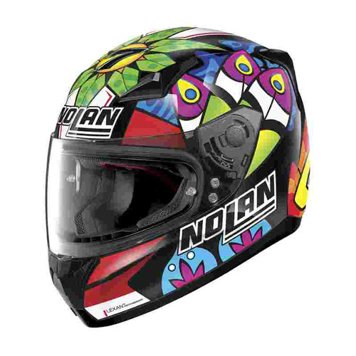 Nolan N60-5 Chaz Davies Race Colours Full Face Motorcycle Helmet  085 Replica