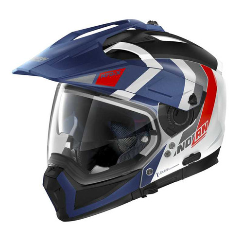 Nolan N70-2X Adventure Crossover Helmet Decurio 033 Removable Chin, Peak & Visor