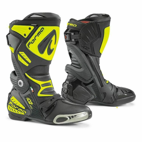 Forma Ice Pro Motorcycle Road Race Boots CE Approved Mens Sale Save £120