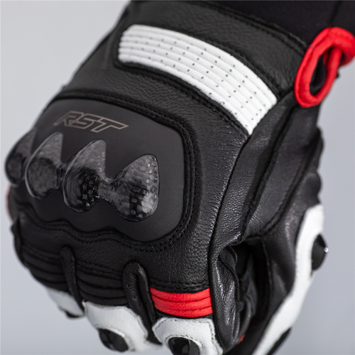 RST Freestyle 2 Motorcycle Gloves 2671 Red Short Ce Approved Next Day Delivery