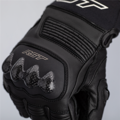 RST Freestyle 2 Motorcycle Gloves 2671 Black Short Ce Approved Next Day Delivery