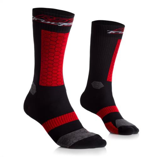 RST Tractech Evo Boot Motorcycle Socks Padded Heel & Shin + Arch Support 2 Pairs