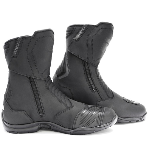 Richa Nomad Evo Short Waterproof Motorcycle Boots Casual Urban Double Entry Zips