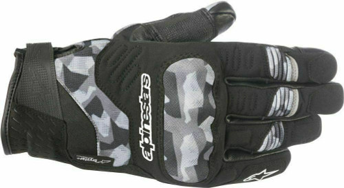 Alpinestars C-30 Drystar Textile CE Waterproof Gloves Camo Medium RRP £84.99