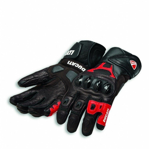 Ducati Alpinestars Speed Air C1 Motorcycle Gloves Black Red All Sizes SALE SMALL