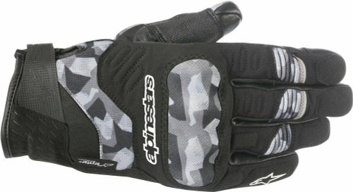 Alpinestars C-30 Drystar Textile CE Waterproof Gloves Camo Size Small RRP £84.99