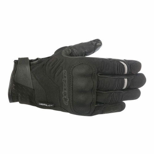 Alpinestars C-30 Drystar Textile CE Waterproof Gloves Black Small RRP £84.99
