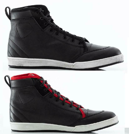 RST Urban II 2 Motorcycle Ankle Boots Hi Tops Trainers 1635 CE Black or Red