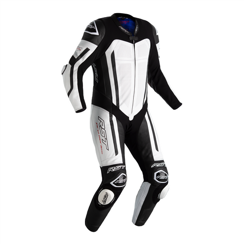 RST Pro Series Airbag One Piece Leathers Motorcycle Motorbike 2520 White CE AAA