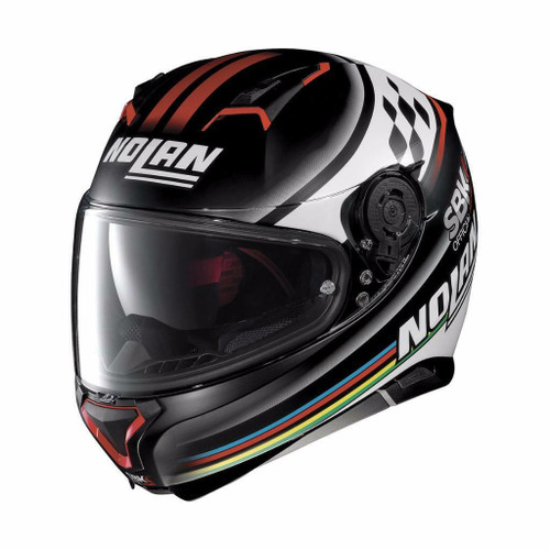 Nolan N87 SBK Motorcycle Helmet Official World Superbike Series Save £50