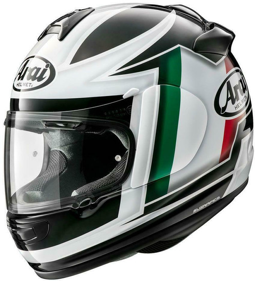 Arai Debut Italian Flag Motorcycle Helmet All Sizes Brand New Model
