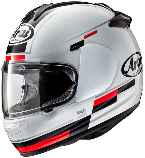 Arai Debut Blaze Motorcycle Helmet White Red All Sizes Brand New Model