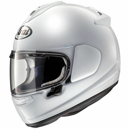 Arai Chaser X Diamond White Motorcycle Helmet Next Day Delivery