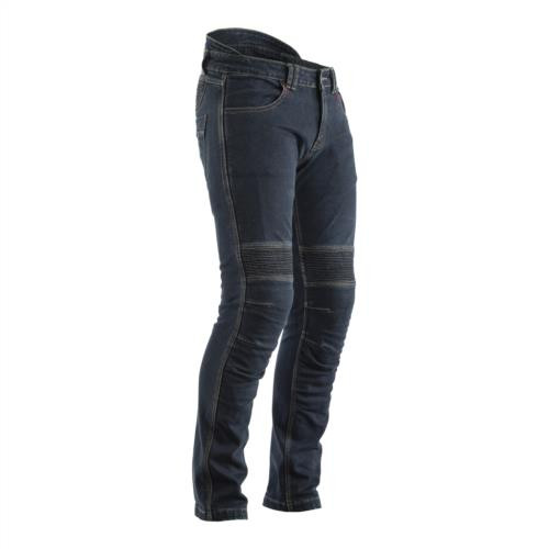 RST 2327 Made with Kevlar Tech Pro CE Motorcycle Jeans Dark Wash Blue Short Leg