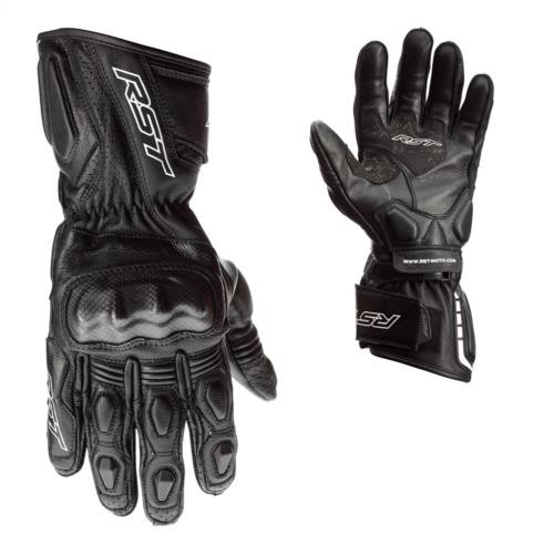 RST 2391 Axis Ce Mens Road Motorcycle Leather Gloves Black