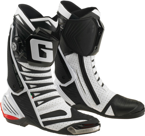 Gaerne GP1 GP-1 Evo Air Motorcycle Motorbike Boots Race Spec Ce Approved White
